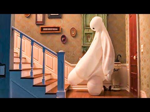 Low Battery Scene - BIG HERO 6 (2014) Movie Clip