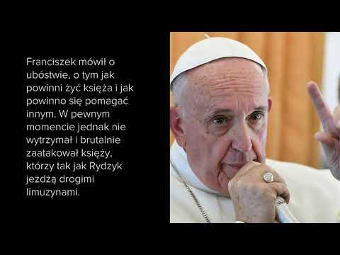 """Papież Franciszek o Ojcu Rydzyku: """"Wymiotować mi się chcę jak go widzę"""""""