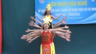 Hung Yen Vietnam  city pictures gallery : Múa Hào khí Việt Nam - Chi đoàn 10D1 - THPT Hưng Yên 26.03.2016