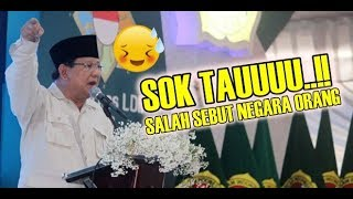 Video Prabowo Salah Sebut Letak Negara Saat Pidato, Timsesnya Tepok Jidat! MP3, 3GP, MP4, WEBM, AVI, FLV Januari 2019