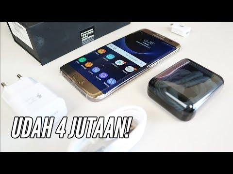 Udah 4 Jutaan! Unboxing Samsung S7 Edge Indonesia di 2018 (видео)