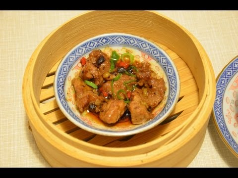 Video: Steamed Pork Spare Ribs in Black Bean Recipe – English Subtitles
