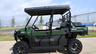 8. SOLD! 2018 Kawasaki Mule Pro FXT EPS with Ranch Armor Top, Lift and More!