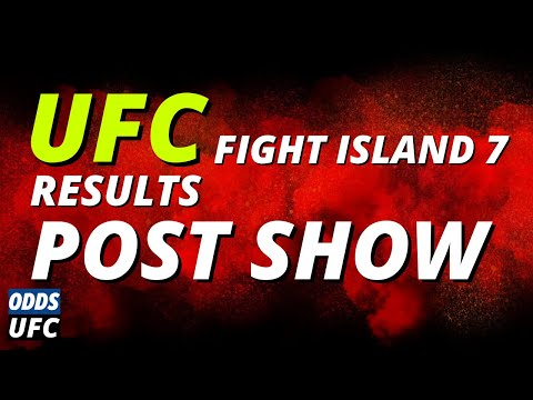 UFC Fight Island 7 Results and Odds Post-Show