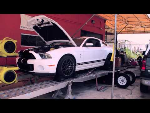 2013 Shelby GT500 on the Dyno!!