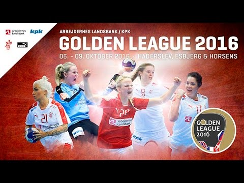 France VS Norvège Handball Golden League féminine 2016 2017 1er tour