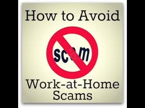 Work from Home Scams – Avoid work from home scams