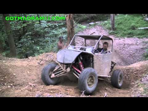 RZR XP CLIMBS NASTY STEEP HILL