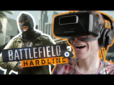 Battlefield Hardline: Oculus Rift DK2 – INCOMING GRENATHIE!