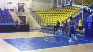 Dunks session by BC Astana players