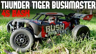 Please subscribe ➜ https://goo.gl/KyaLHPSpecial coupon for my subscribers - Tanksytb Brings down the price to $355Available here in two colorsBlue ➜ https://goo.gl/4VnPJaRed ➜  https://goo.gl/H7FpcrWell here is the Thunder Tiger Bushmaster! It is such a beast and can take some solid hits.More videos to come.Follow me on Facebook ➜ https://www.facebook.com/Rctanksandtrucks247Any questions please leave them in the comments and I will do my best to answer them.If you like the video please give it a thumbs up, share and subscribe for the latest videos.