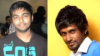 Online Fight between GV Prakash&Dinesh