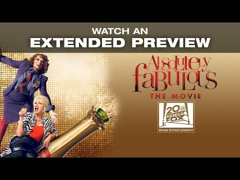 ABSOLUTELY FABULOUS: THE MOVIE - Watch an extended preview