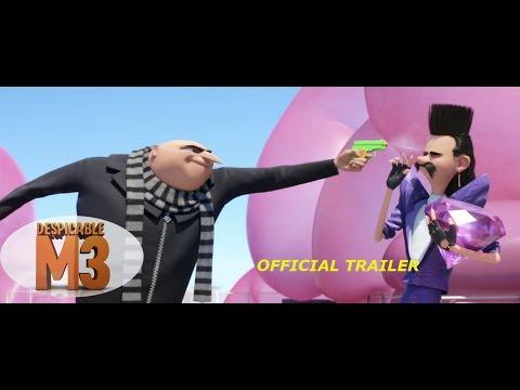 Despicable Me 3 - TRAILER OFFICIAL (Kẻ cắp mặt trăng 3 - Trailer Chính thức)