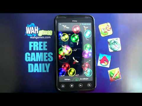 Video of Rainbow bubbles free lwp