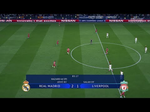 Real Madrid VS Liverpool - FIFA 20 Demo Gameplay (No Commentary)