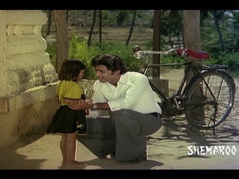 Apadbandhavulu Telugu Movie - Sridhar admiring a little girl - Sharada 19 April 2014 08 PM