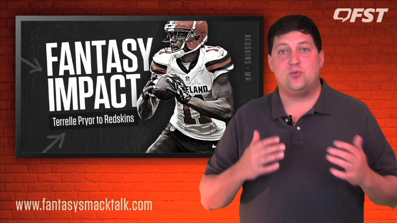 Fantasy Impact of the Terrelle Pryor Signing thumbnail