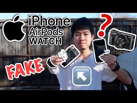 Time to Smash! - Fake Apple Products