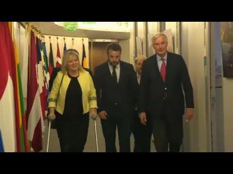 Brexit: Barnier trifft widerspenstige nordirische Pol ...