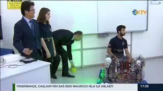 Samsung Akademi öğrencilerinin de yer aldığı All Star karması tarafından üretilen robot, Çin'de yapılacak Uluslararası robot yarışmasında şampiyon olmak için yarışacak!