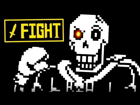 FULL PAPYRUS FIGHT | Undertale The Forgotten End