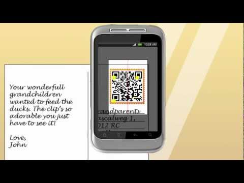 Video of POSTCARD QR STAMP (MEDIATAG)