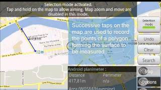 Map Tools - GPS measure & area YouTube video