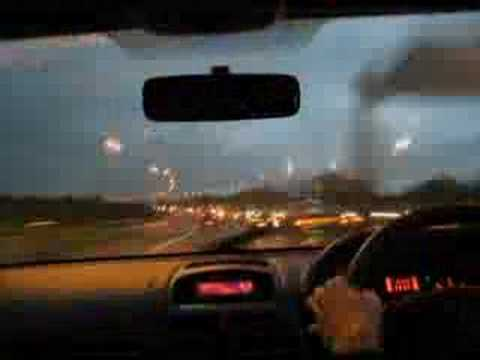 atdlimited - Motorway time-lapse video, heading east over the Second Severn Crossing.