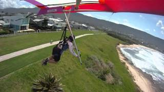 Bulli Australia  City pictures : Hang Gliding - Dune Gooning, Low Level Flying - Sandown Point, Bulli NSW Australia