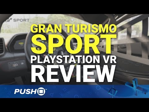 Gran Turismo Sport PlayStation VR (PSVR) Review | PlayStation 4 | PS4 Pro Gameplay Footage
