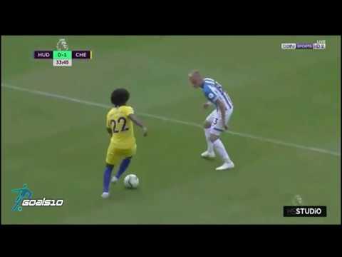 0-3 HUDDERSFIELD VS CHELSEA TODOS LOS GOLES PREMIER LEAGUE 2018/2019 EN VIVO