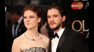 Kit Harington and Rose Leslie are 'not engaged' as they shut down engagement rumours Game Of Thrones lovers turned real-life ...