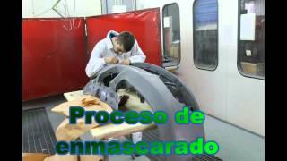 2012 Pintado de defensa a dos colores_IES AS MARIÑAS