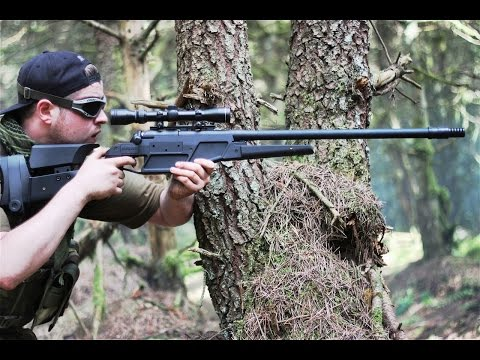 Sniper - 30 Minutes of Airsoft Action. 14 Uncut clips from different games & sites. 1 of over 500 airsoft games videos at http://www.youtube.com/scoutthedoggie Filmed...