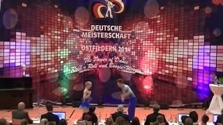 Carolin Körber & Richard Kantelberg - Deutsche Meisterschaft 2014