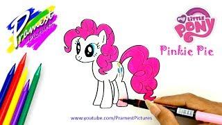 Video Pinkie Pie | Cara Menggambar Dan  Mewarnai Gambar Kuda Poni Untuk Anak MP3, 3GP, MP4, WEBM, AVI, FLV Januari 2019
