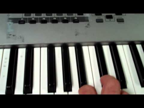 keyboard tutorial - How to play Psy Gangnam Style, 강남스타일 Instruction Tutorial, by Elliot Levine on piano keyboard synth, Gangham Style.
