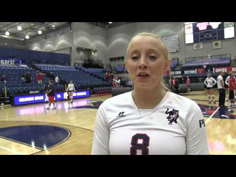 Postgame - Volleyball vs. UNC Pembroke
