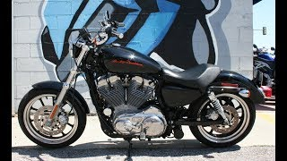 8. 2013 Harley Davidson XL883L Super Low ... Very Clean w Low Miles!
