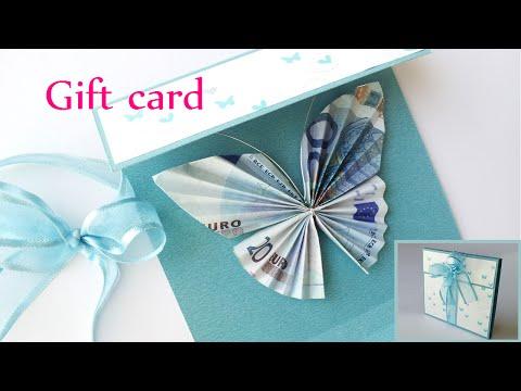 inizia piegando una banconota e vi mostra un'idea regalo straordinaria!