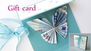 DIY Crafts: GIFT CARD Money Holder (butterfly) - Innova Crafts