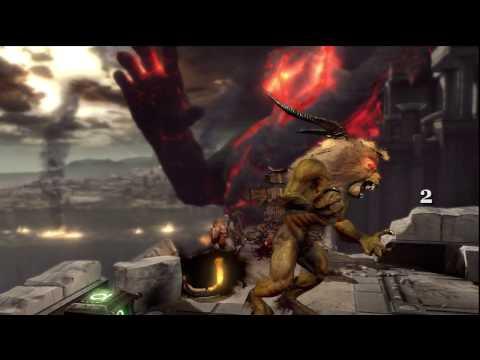 God of War III Demo Full Playthrough Watch Kratos In True HD 720p Part 1 of 2