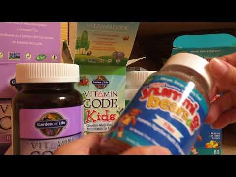 Живые Органические витамины Garden of life из овощей и фруктов для детей 60 жевалок