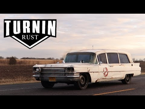 Who Ya Gonna Call Part 1 | 1963 Cadillac Hearse Cummins Swap | Ghostbusters Ecto 1| Turnin Rust