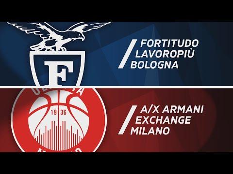 Serie A 2020-21: Fortitudo Bologna-Milano, gli highlights