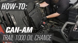 8. How To Change The Oil On A Can-Am Maverick Trail 800 & 1000