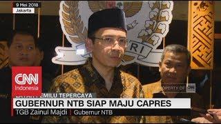Video Gubernur NTB Tuan Guru Bajang Siap Maju Capres 2019 MP3, 3GP, MP4, WEBM, AVI, FLV Juni 2018