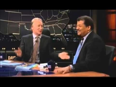 neil - Scientist and Cosmos presenter Neil deGrasse Tyson defends science to Bill Maher on Real Time after he appears on the cover of a critical right wing magazine.