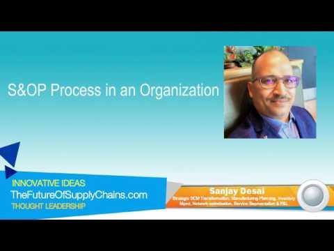 S&OP Process in an Organization - Part 1